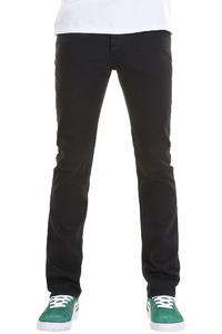 KR3W K Slim Jeans (dark black)