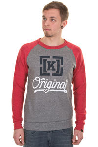 KR3W Original 4 Tri-Blend Sweatshirt (grey)