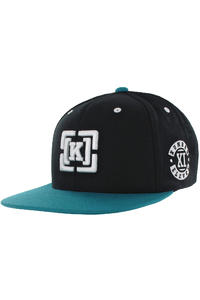 KR3W Team Bracket Snapback Cap (black)
