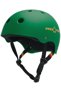PRO-TEC The Classic Helm (rasta green)