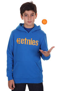 Etnies Corporate Hoodie kids (royal)