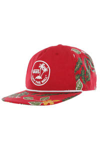 Vans Broloha Surf Snapback Cap (red hawaiian)