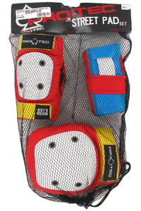 PRO-TEC Street Gear Protection-Set 3er Pack  kids (retro)