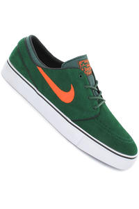 Nike Zoom Stefan Janoski Shoe (gorge green total orange black)