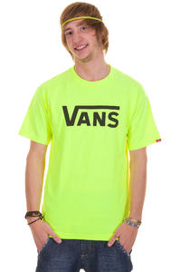 Vans Classic T-Shirt (safety green black)