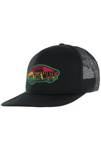 Vans Classic Patch Trucker Cap (black rasta)