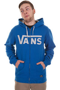 Vans Classic Zip-Hoodie (classic blue vintage white)