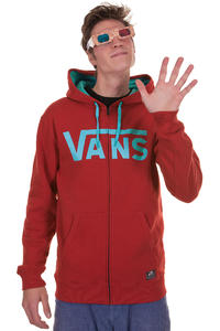 Vans Classic Zip-Hoodie (red blue atoll)