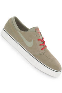 Nike Zoom Stefan Janoski Schuh (khaki hyper red)