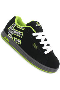 Etnies FSAS x Twitch Fader Schuh kids (black green white)