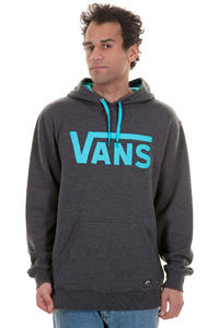 Vans Classic Hoodie (new charcoal heather blue atoll)