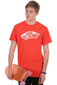 Vans OTW T-Shirt (cherry tomato white)