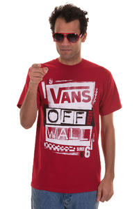 Vans Stenciled T-Shirt (cardinal white)