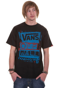 Vans Stenciled T-Shirt (black blue)