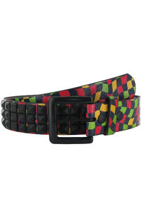 Vans Studded Leather Belt (rasta)