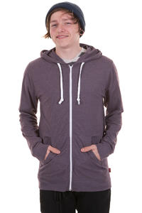 Vans Core Basics Zip-Hoodie (plum perfect heather)