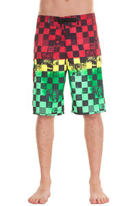 Vans Off The Wall Boardshorts (rasta scan check)