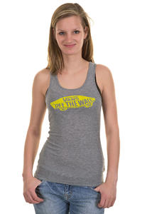Vans Conquer Tank-Top girls (grey heather)