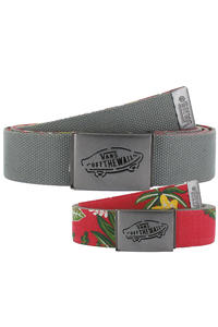 Vans Reverse Belt reversible  (red hawaiian)