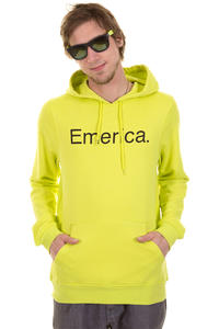 Emerica Pure Solid Hoodie (lime)