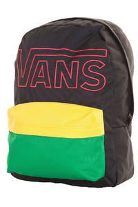Vans Old Skool II Rucksack (rasta colorblock)