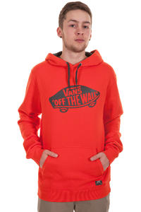 Vans OTW Hoodie (cherry tomato new charcoal)