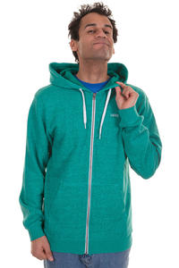 Vans Core Basics Zip-Hoodie (blue atoll new teal heather)