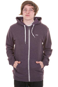 Vans Core Basics Zip-Hoodie (plum perfect gravel heather)