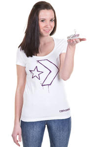 Converse Neon Star T-Shirt girls (white)