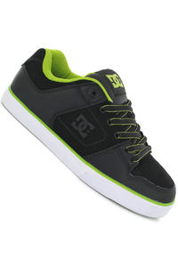 DC Pure Slim SP13 Schuh (black soft lime)