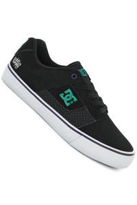 DC Bridge Deft Family Shoe (black white black print)
