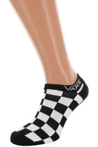 Vans Checker Kick Socks US 10-13  (black)