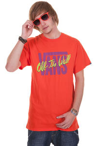 Vans Flyin T-Shirt (cherry tomato)