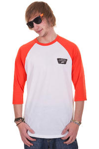 Vans Full Patch 3/4 Longsleeve (white cherry tomato)