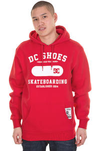 DC Top Floor Hoodie (athletic red)