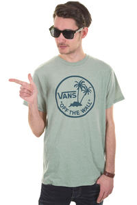 Vans OTW Palm Logo T-Shirt (green bay heather)