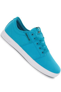 Supra Stacks Canvas Shoe (turquoise white)