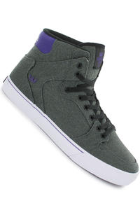 Supra Vaider Canvas Shoe (grey black purple white)