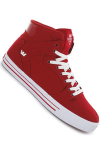 Supra Vaider Canvas Shoe (red white)