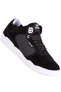 Supra Ellington Suede Shoe (black white)