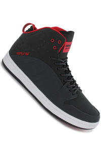 Supra S1W Nubuck Schuh (charcoal grey red white)