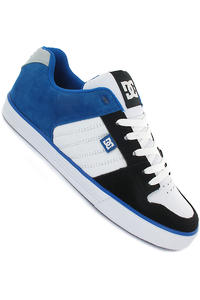 DC Course Schuh (white black blue)
