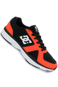 DC Unilite Trainer Shoe (black fluorescent orange)