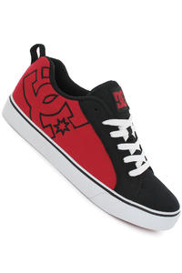 DC Court Vulc TX Shoe (black athletic red white)