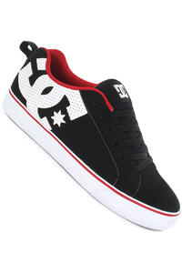 DC Court Vulc Schuh (black rich red)