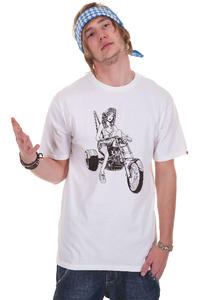 Vans Biker Babe T-Shirt (white)