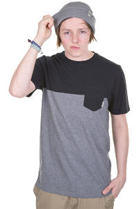 Vans Burke T-Shirt (black gravel heather)