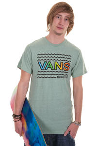 Vans Wavy Gravy T-Shirt (green bay heather)