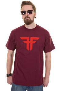 Fallen Trademark T-Shirt (cordovan blood red)