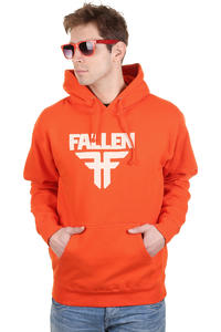 Fallen Insignia Hoodie (athletic orange dust)